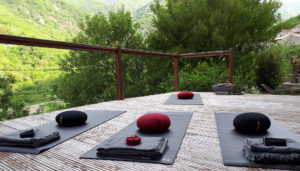 Stage yoga pleine nature dans les Cévennes